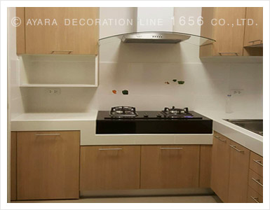Genial Brown Wood Laminate Kitchen Cabinets